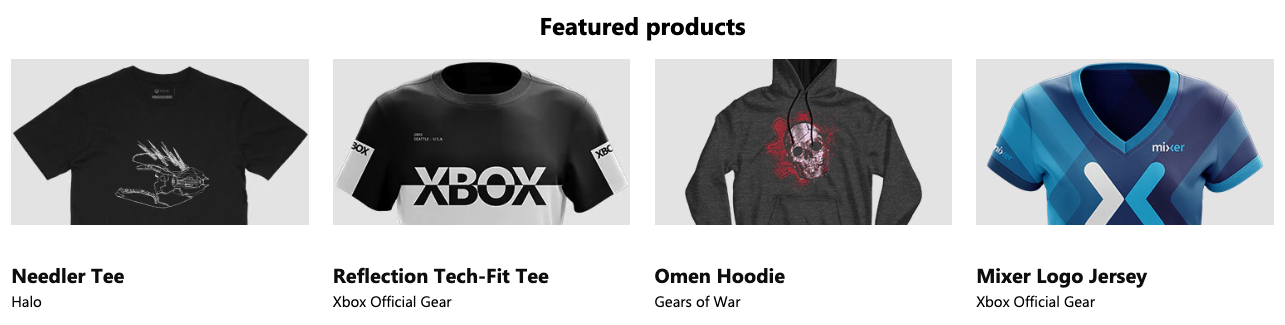 Xbox Official Gear
