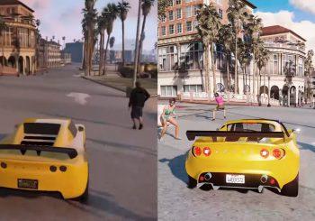 Comparaciones odiosas: GTA V a 8K vs GTA V en Xbox 360
