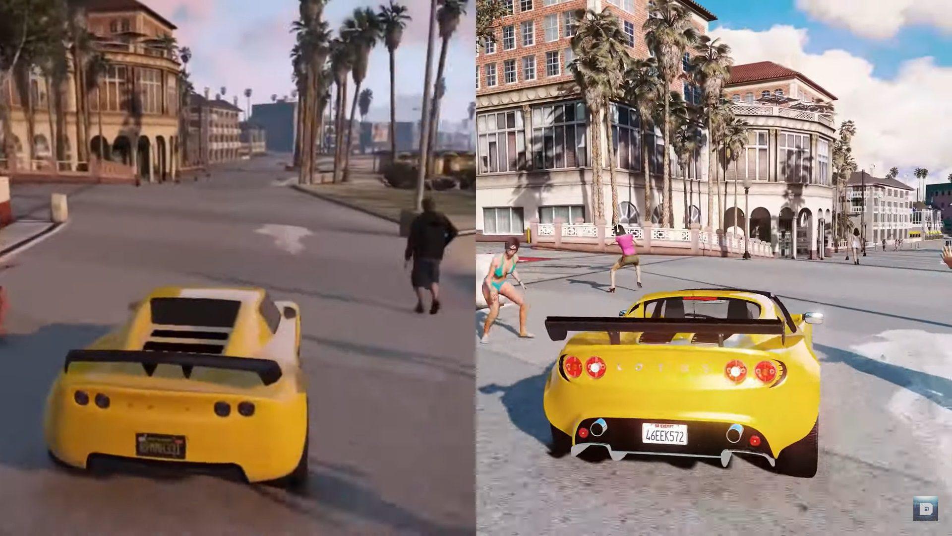 Comparaciones Odiosas Gta V A 8k Vs Gta V En Xbox 360