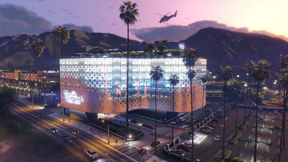 El Casino de GTA Online abrirá sus puertas muy pronto