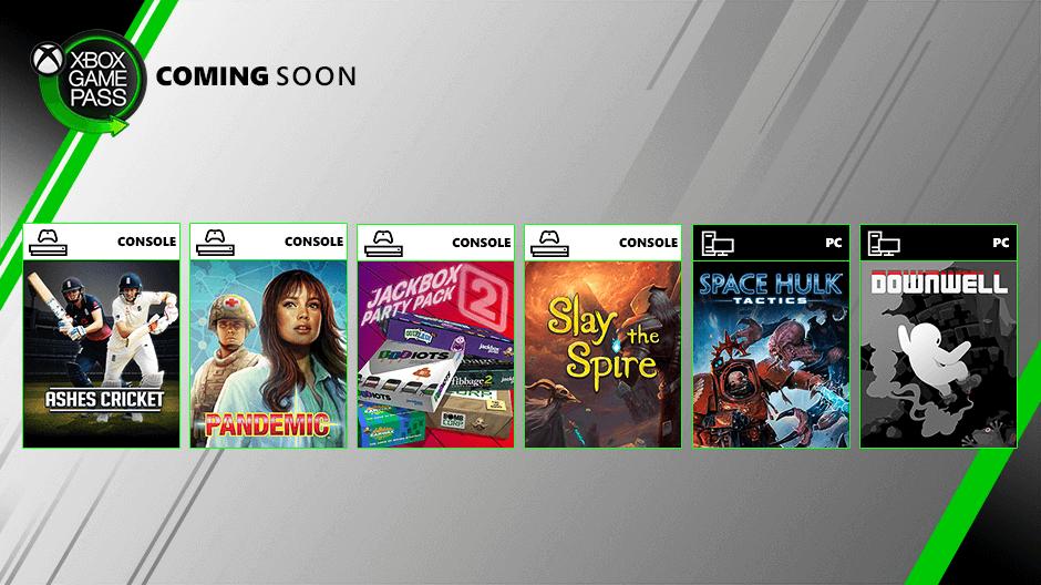 Estos son los nuevos juegos para Xbox Game Pass que llegarán en agosto