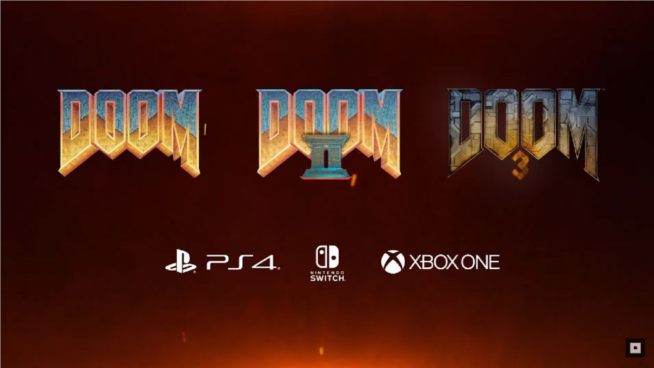 ¡Bombazo! Doom, Doom II y Doom 3 relanzados para Xbox One #QuakeCon