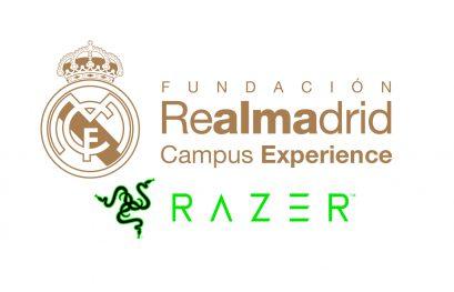 RAZER y la Fundación Real Madrid Campus Experience, juntos para mejorar los videojuegos
