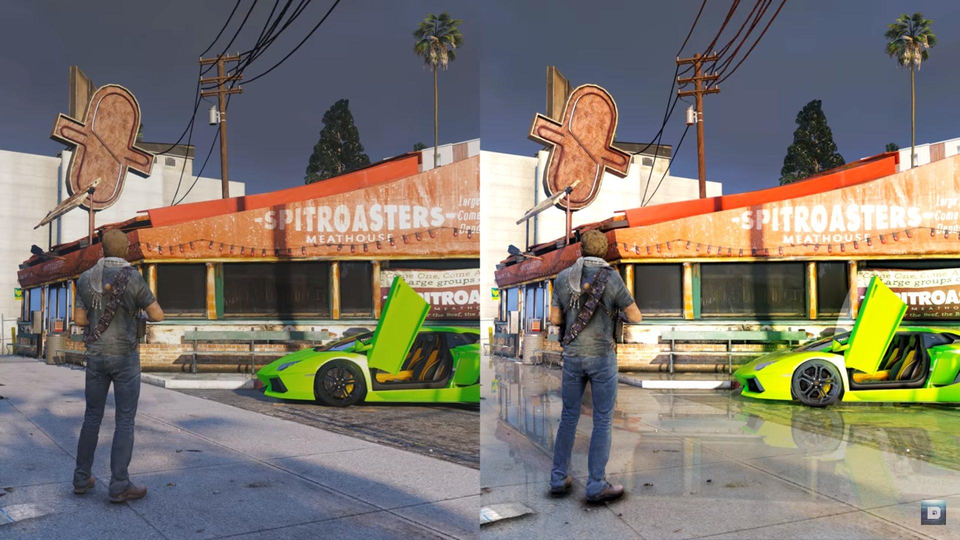 Lo más cerca de Grand Theft Auto VI: GTA 5 a 8K con Ray