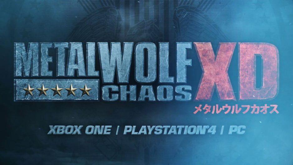 Metal Wolf Chaos XD llegará en 4K a Xbox One X el próximo mes de agosto