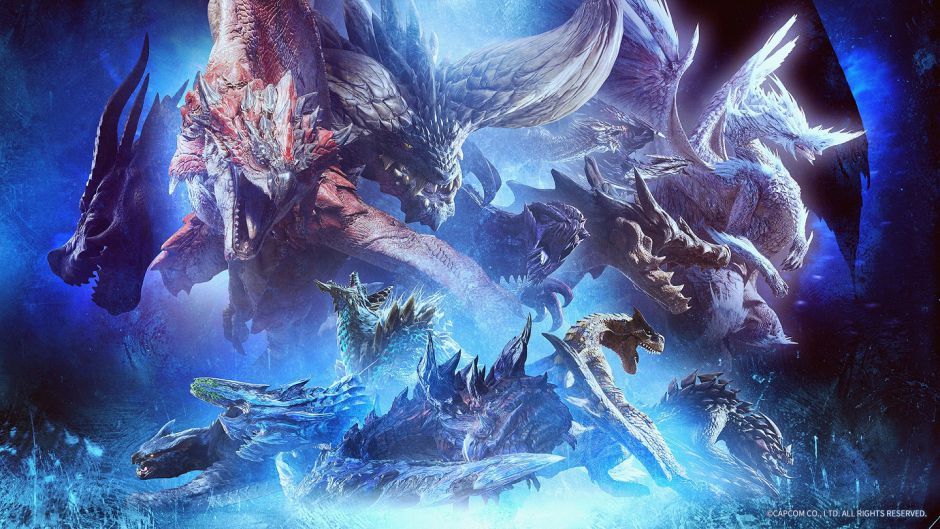 Monster Hunter World: Iceborne nos presenta al espectacular Glavenus