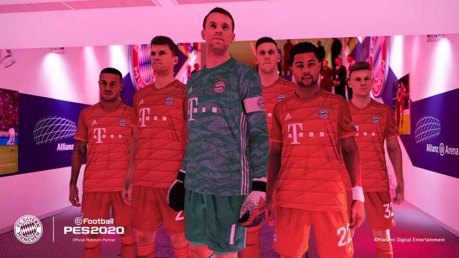eFootball PES 2020 contará con la licencia oficial del FC Bayern Munich