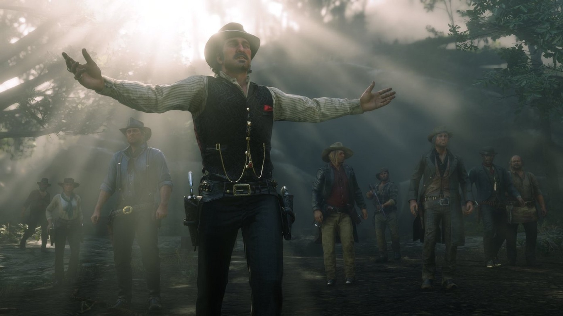 Red Dead Redemption 2 Luce Impresionante Con Ray Tracing