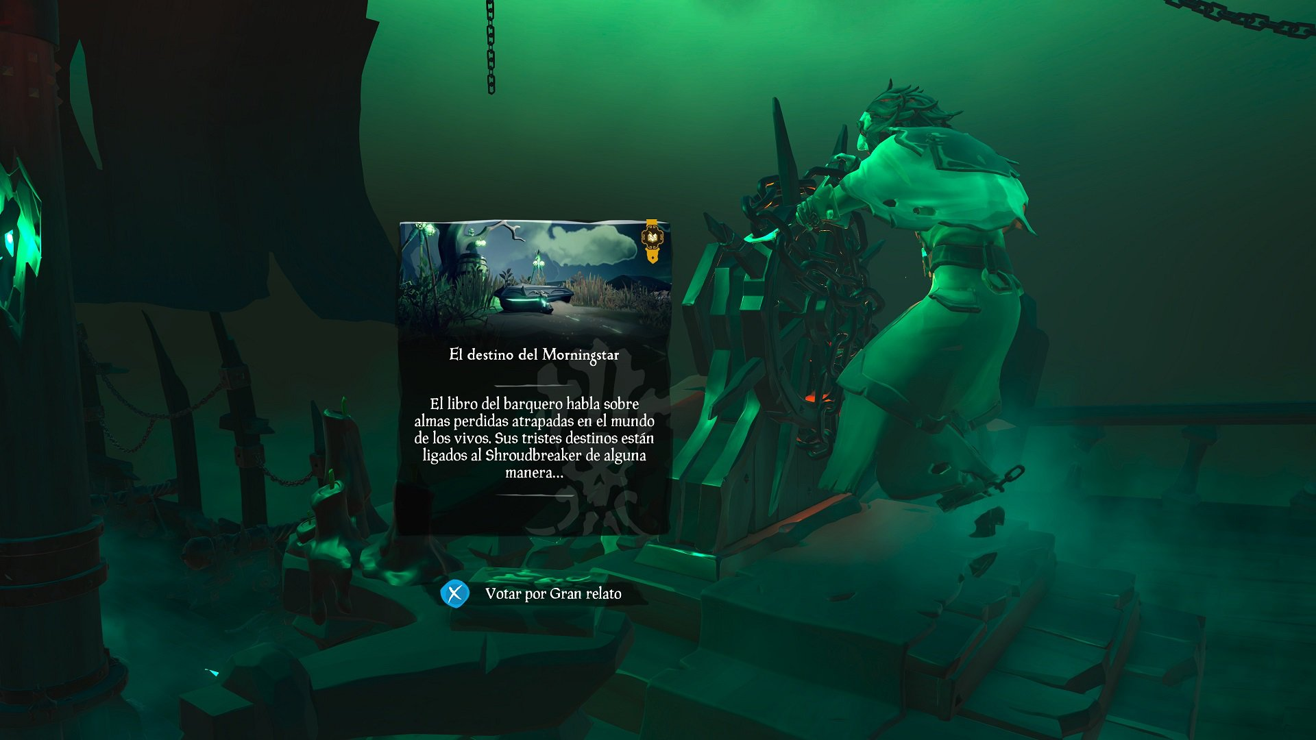 Sea of Thieves Tall Tales El Destino del Morning Star
