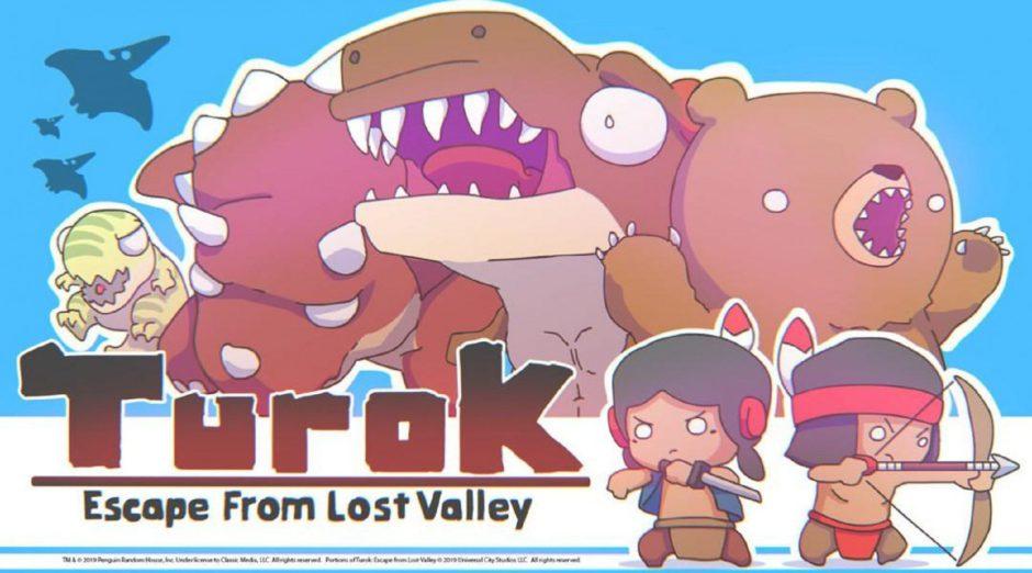 Turok vuelve con Escape from Lost Valley, un juego con perspectiva isométrica adorable