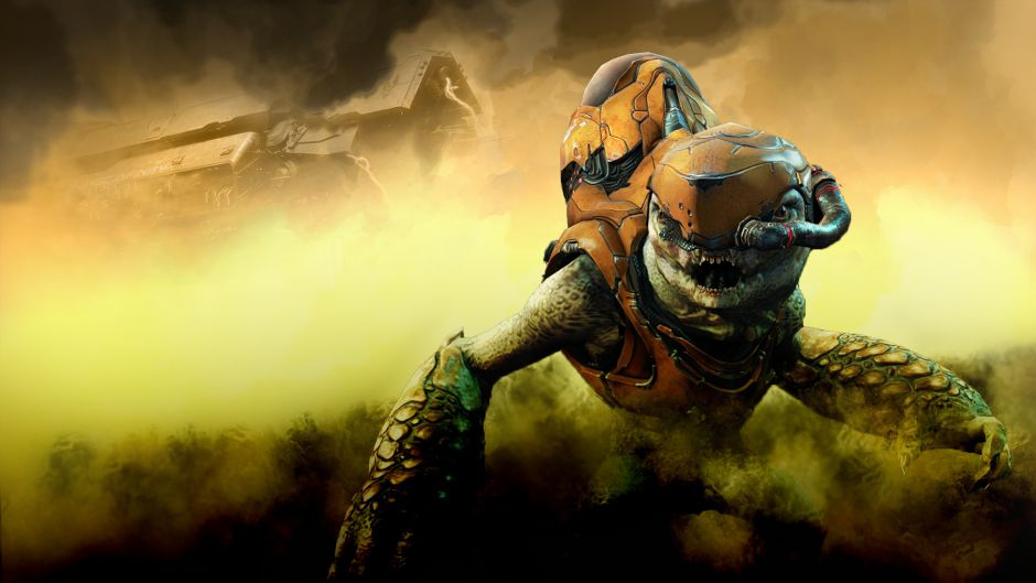 Así sería el hermoso y terrorífico universo Halo a escala real