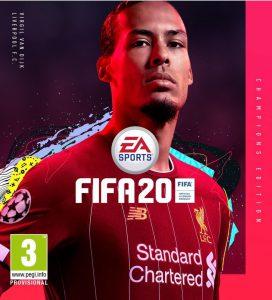 Estas son las portadas de las ediciones Estándar y Champions de FIFA 20