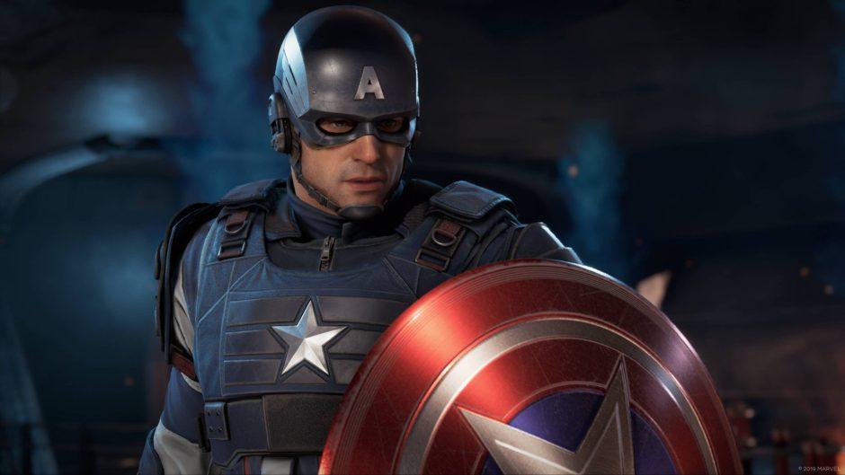 Crystal Dynamics revela como será jugar con el Capitán América en Marvel's Avengers
