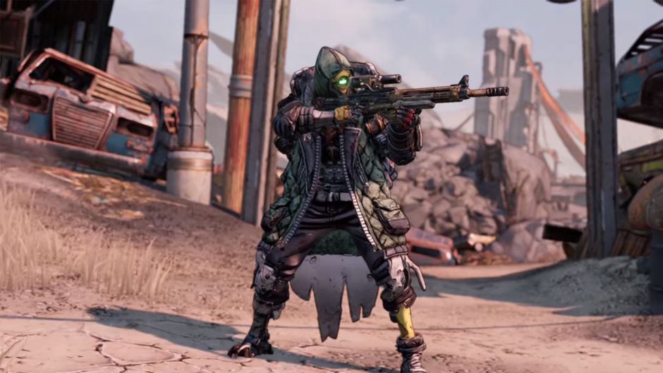Nuevo gameplay de Borderlands 3 con Fl4k, el domador de bestias