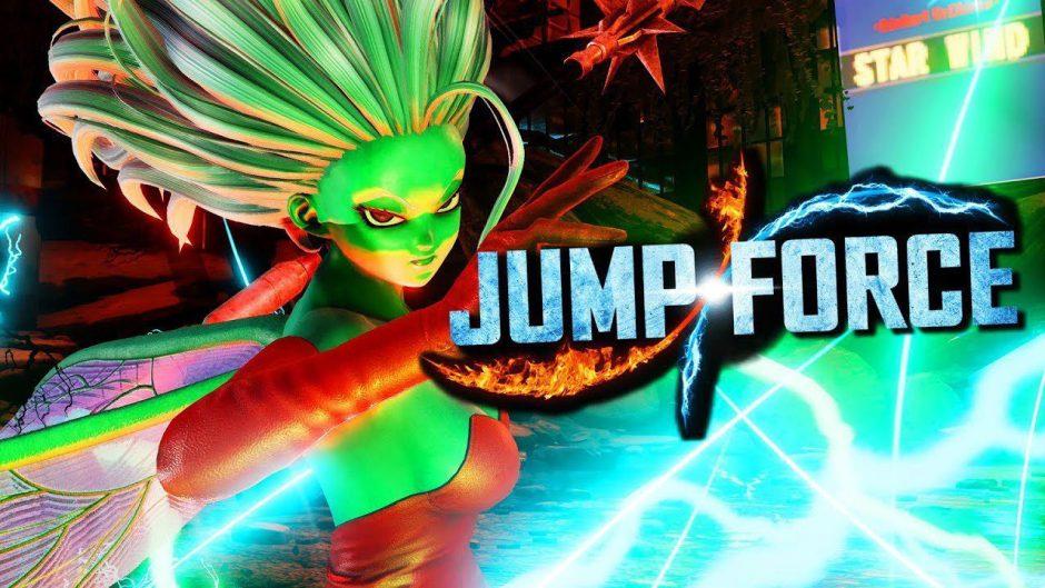 Galena aterriza en Jump Force de forma gratuita y se muestra en un nuevo trailer