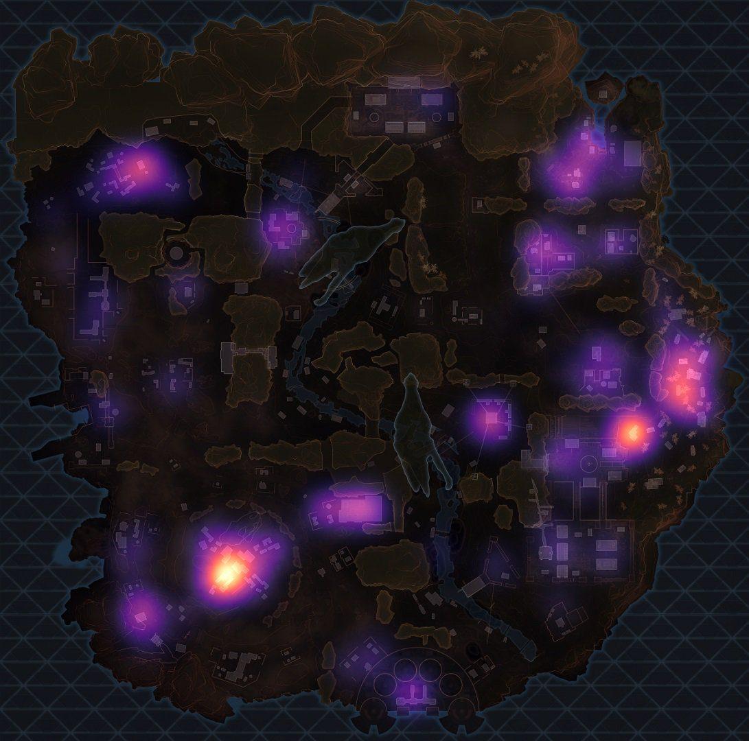 Estas son las zonas en las que aterrizan los mejores jugadores de Apex Legends