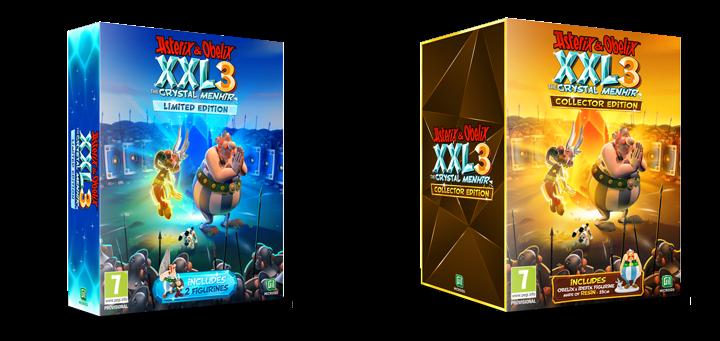 Astérix y Obélix XXL3: El Menhir de Cristal,