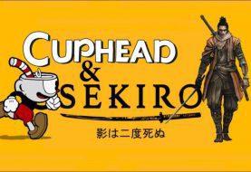 Este crossover de Sekiro y Cuphead es de lo mejor que verás esta semana