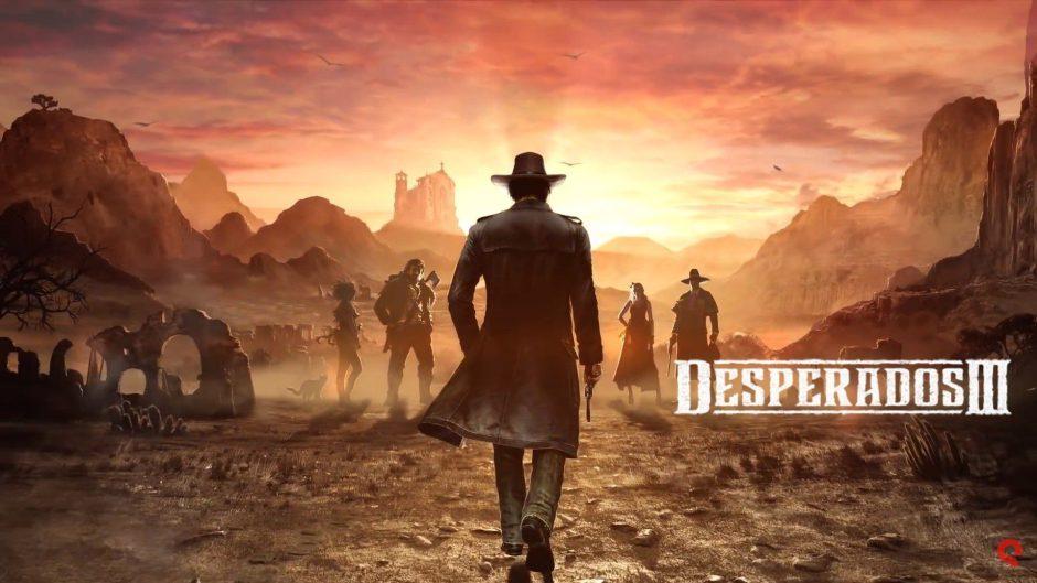 Nuevo trailer de Desperados 3 con miniaturas