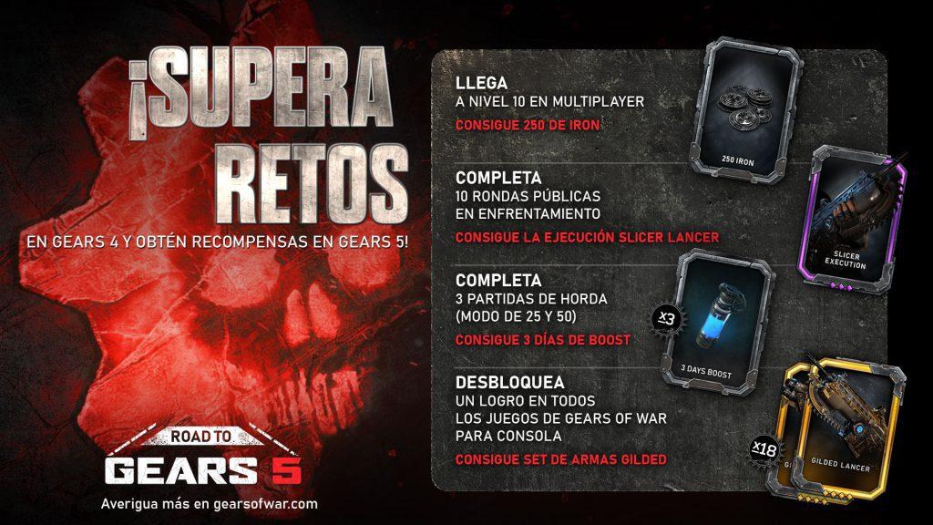 Gears 5 Gears of War 4