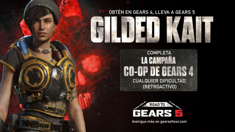 Nuevos retos llegan a Gears of War 4 para desbloquear contenido en Gears 5