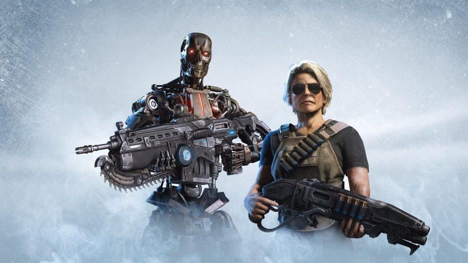 Libra al mundo de las máquinas en el evento de Horda de Terminator para Gears 5