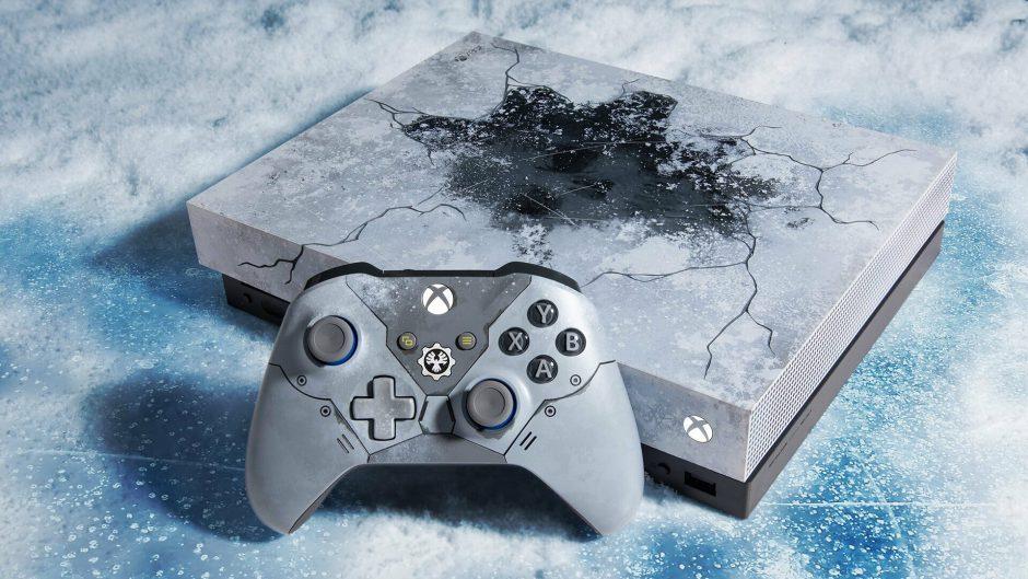 Primer unboxing de Xbox One X – Edición Limitada Gears 5