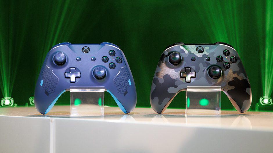 [GAMESCOM 2019] Presentados dos nuevos mandos para Xbox: Night Ops Camo y Sport Blue