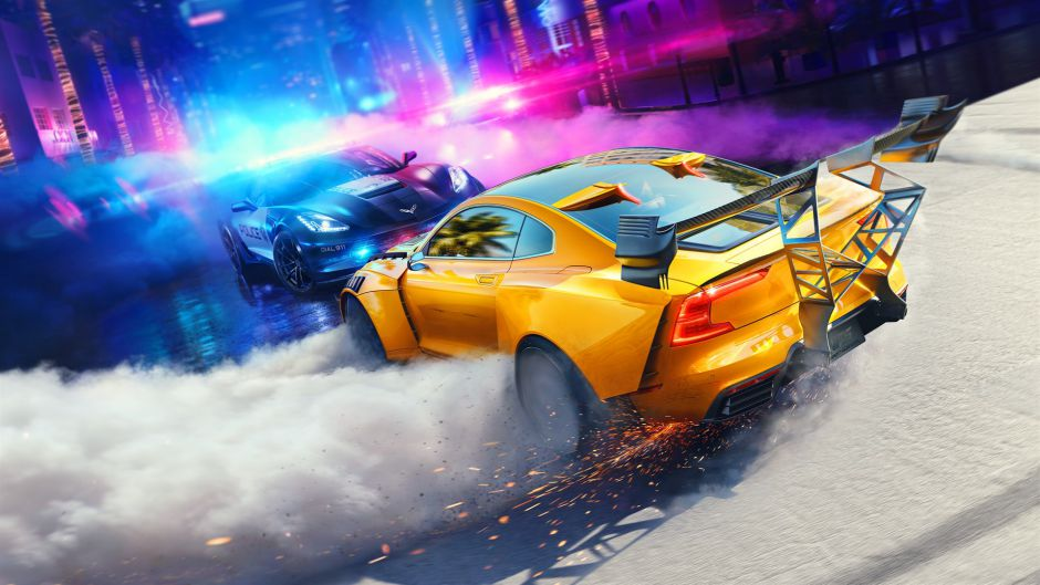 [GAMESCOM 2019] Tuning, policías, carreras… el primer gameplay de Need For Speed: Heat tiene de todo