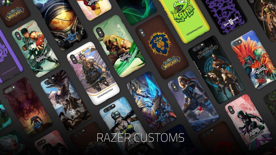 Razer Customs, las carcasas para gamers de Razer