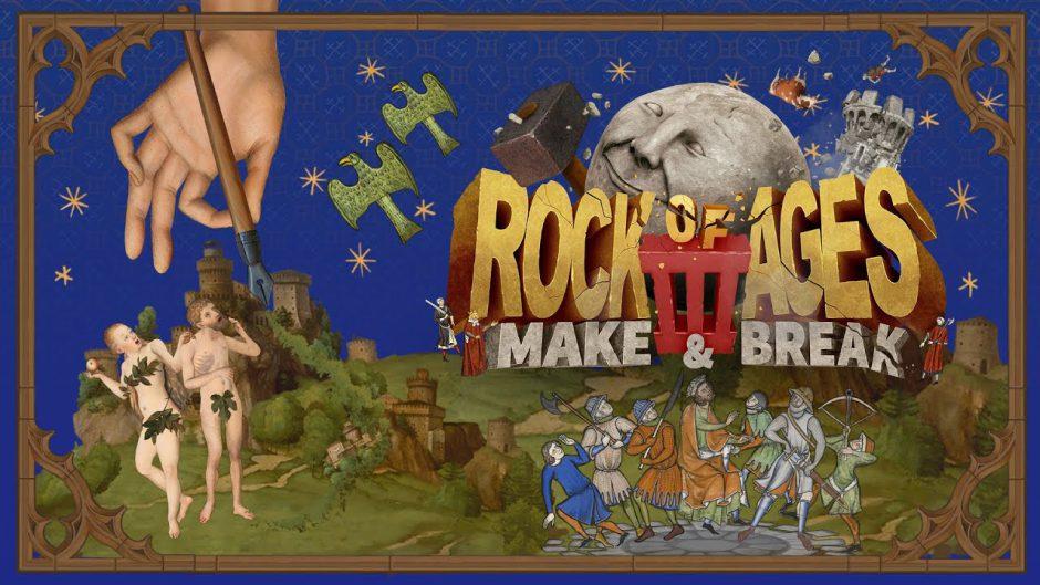 Rock of Ages 3: Make & Break presenta su tráiler de lanzamiento
