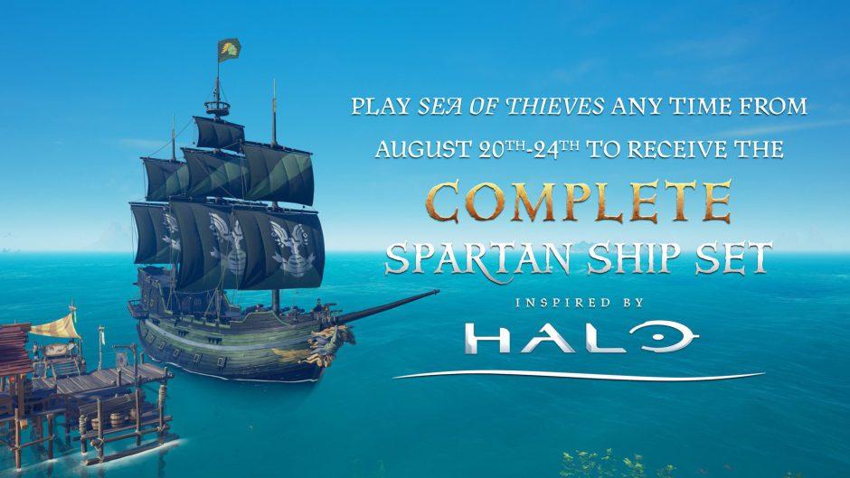 ¡Consigue el Set Spartan de Halo en Sea of Thieves durante la Gamescom 2019!