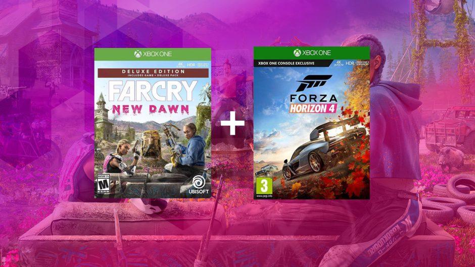 Sorteamos este pack de juegos para Xbox (Far Cry New Dawn + Forza Horizon 4)