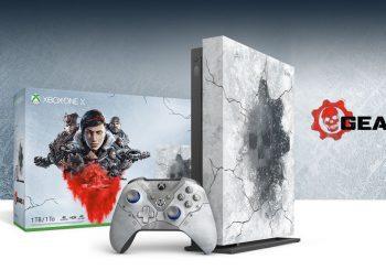 Conoce todo lo que trae la Xbox One X edición limitada de Gears 5
