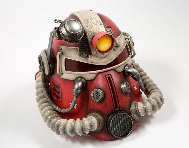 casco de la armadura de poder T-51b Fallout