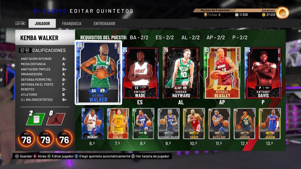 Análisis de NBA 2K20