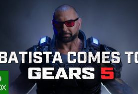 Dave Bautista llega a Gears 5... ¡como skin de Marcus Fenix!