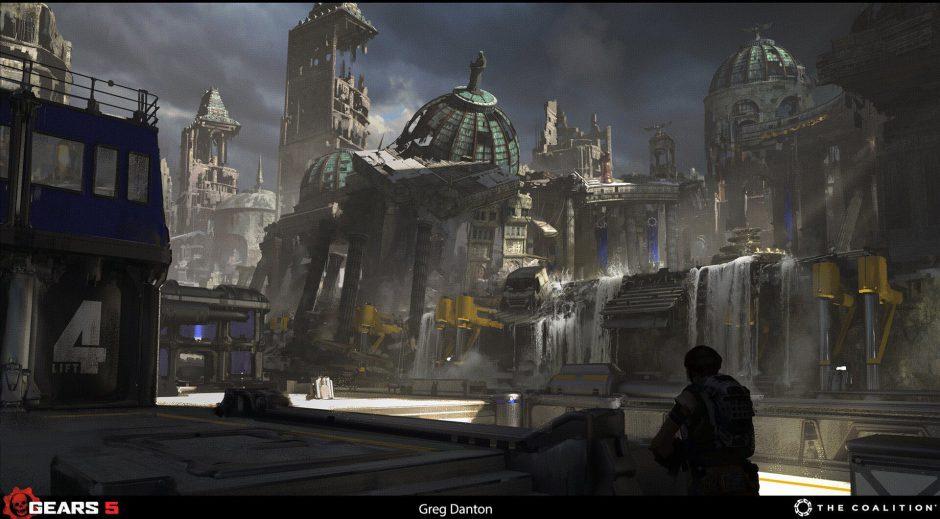 Gears 5 usó Destiny 2 como inspiración para su apartado artístico