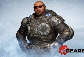 Ya disponible Dave Bautista en Gears 5... ¡como skin de Marcus Fenix!