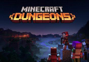 Se muestran los primeros minutos de historia de Minecraft Dungeons