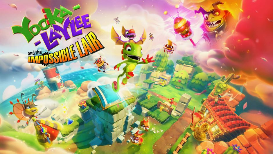 Yooka-Laylee and the Impossible Lair llega a Xbox One en octubre