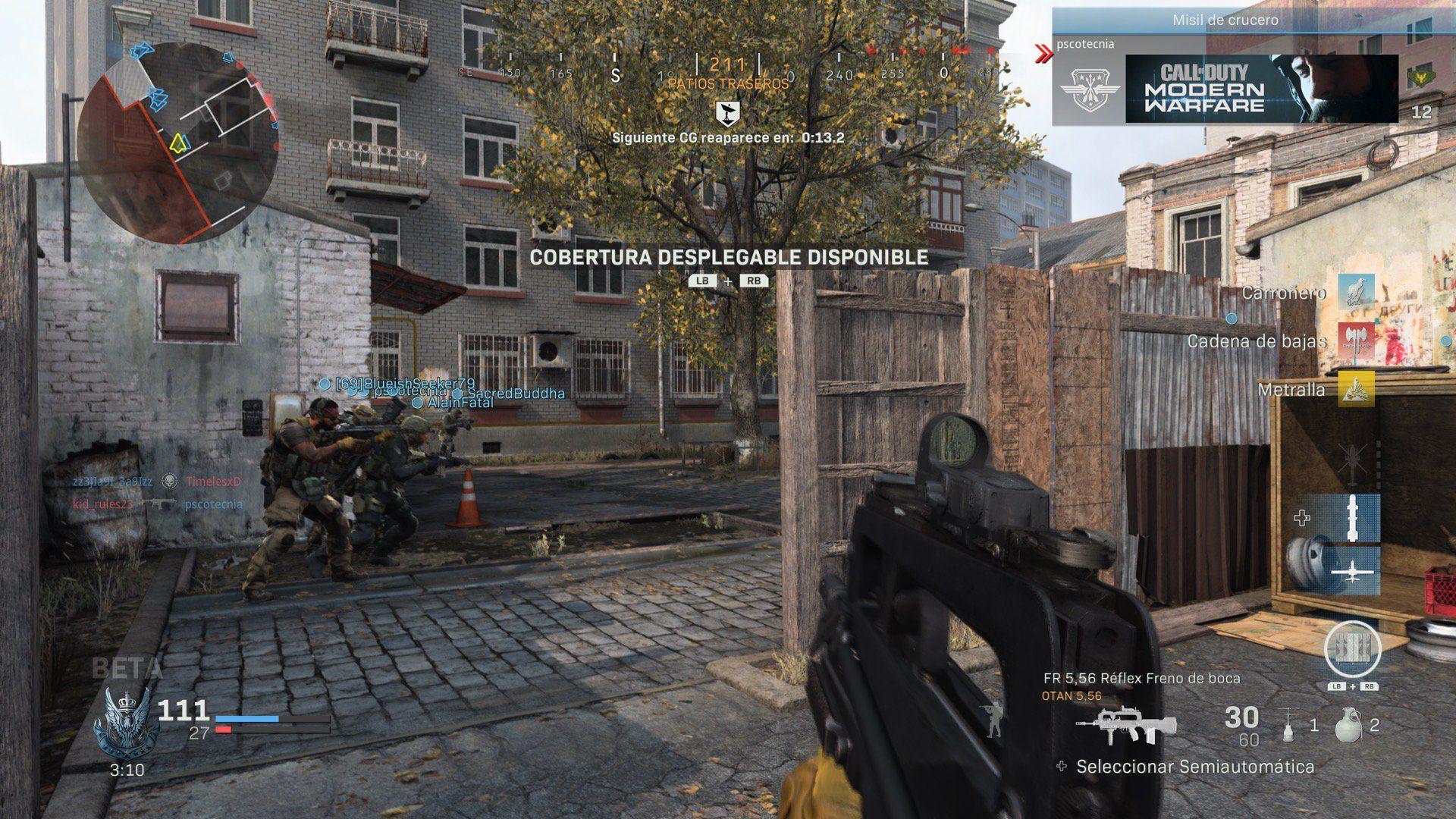 Impresiones de la beta abierta de Call of Duty: Modern Warfare