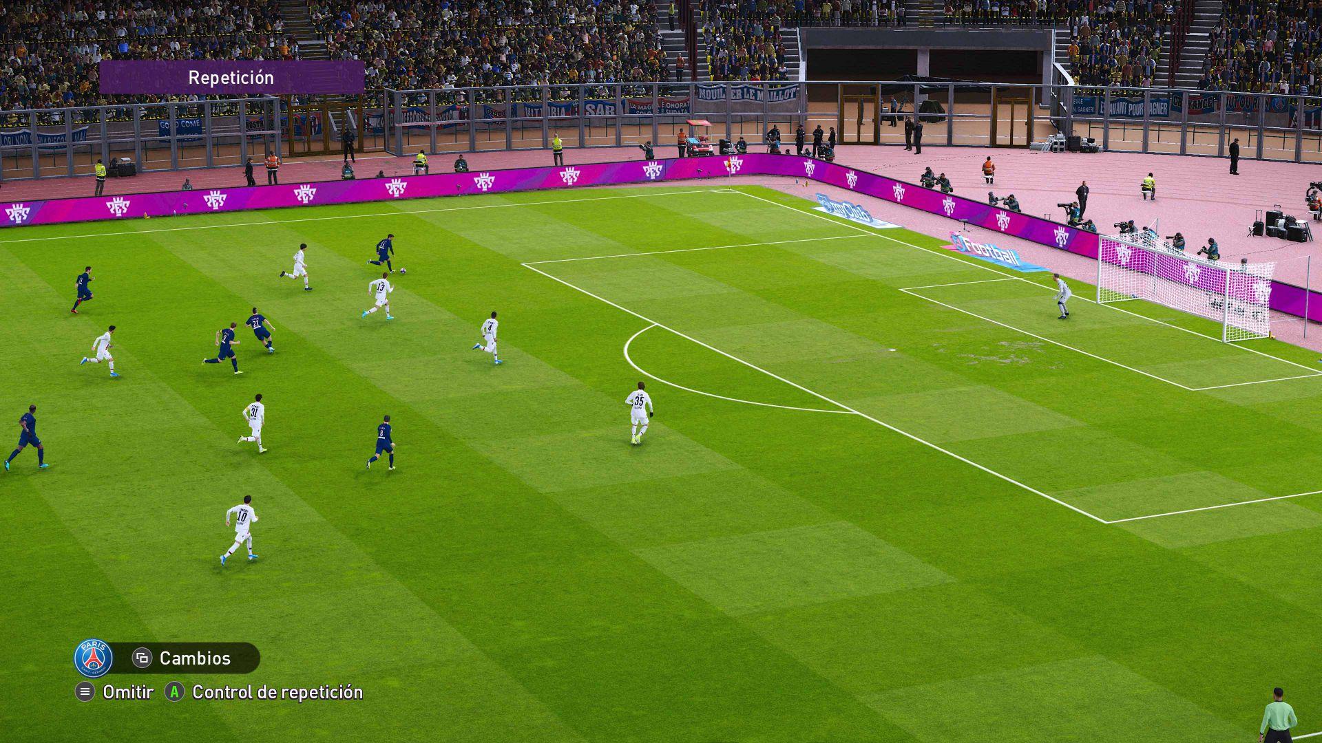 Análisis de eFootball PES 2020