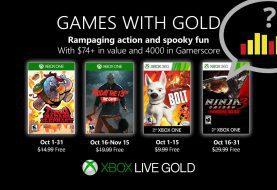 Vota: ¿Qué os parecen los Games With Gold de octubre?