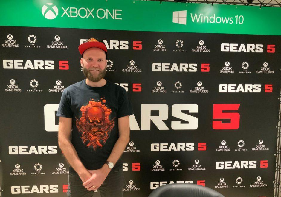 Entrevistamos a Otto Ottosson, LMP de Gears 5