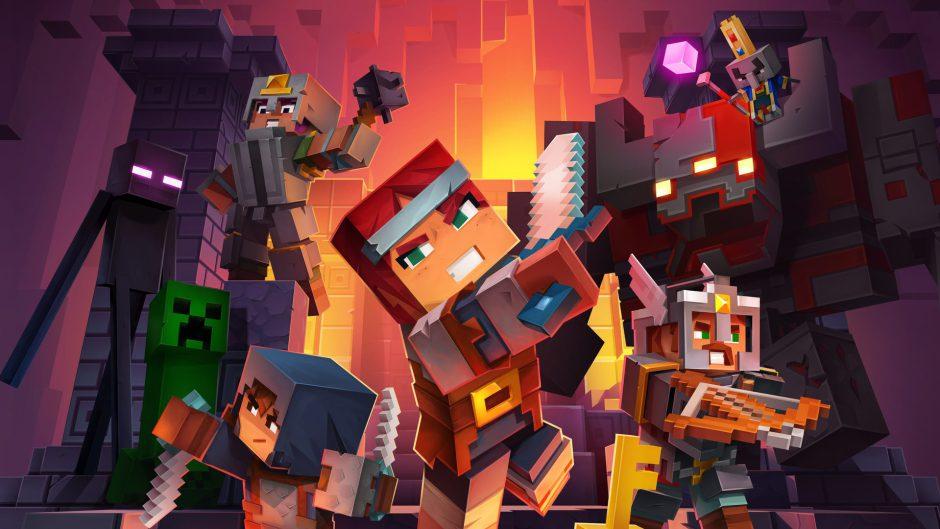 Minecraft Dungeons mezclará actualizaciones gratuitas y DLCs de pago