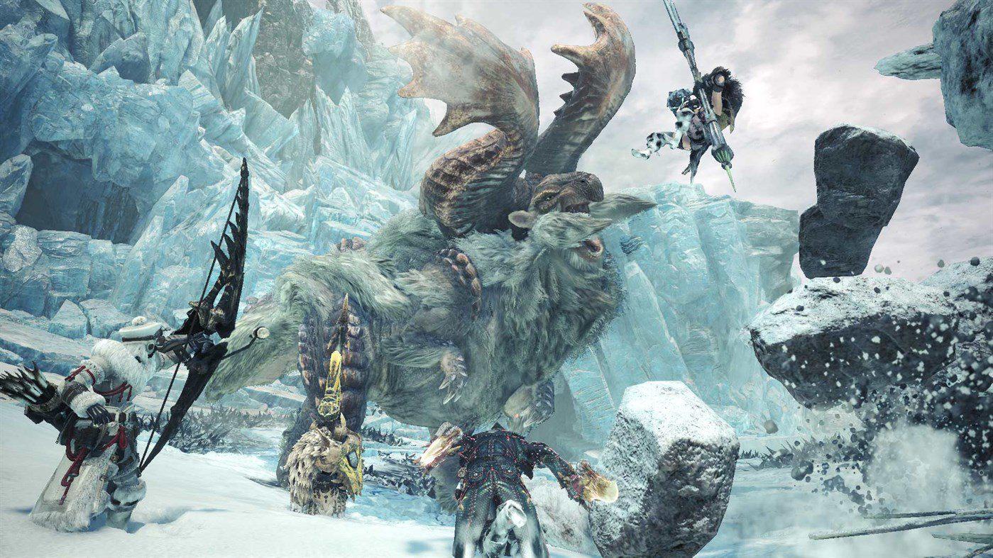 Ya disponible la beta de Monster Hunter World: Iceborne en Xbox One