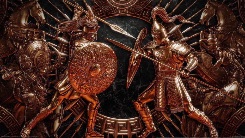 Así es el mapa de campaña de Troy: A Total War Saga