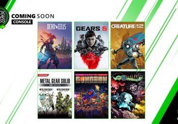 Xbox Game Pass añade hoy Gears 5, Metal Gear Solid HD y Dead Cells