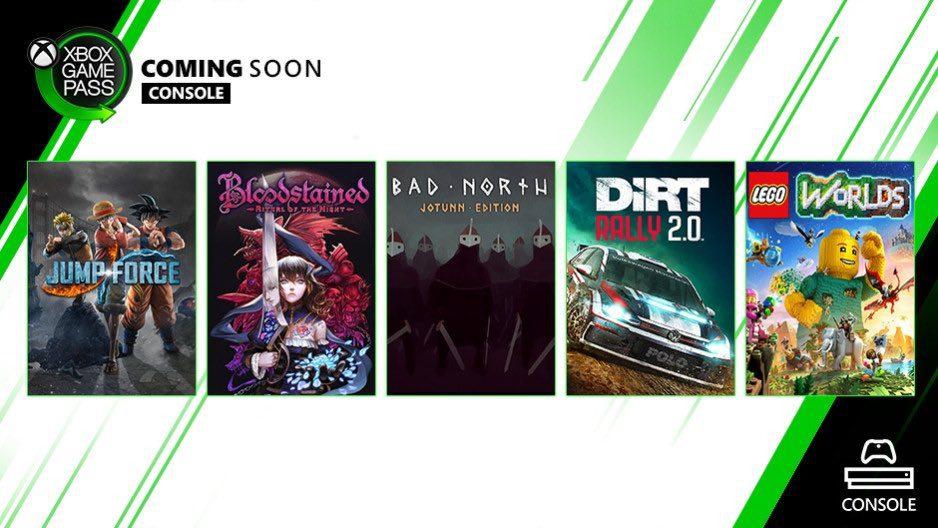 Anunciados los próximos juegos en llegar a Xbox Game Pass
